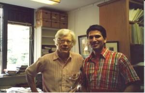 Con Arthur Taylor von Mehren en Harvard