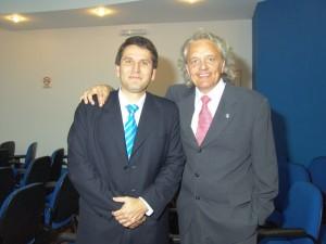 Con Diego Fernández Arroyo