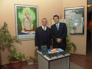 Con Alejandro Gatti, UCA
