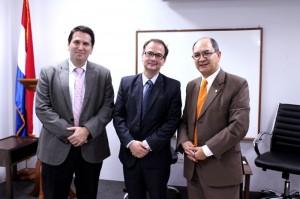Con Christophe Bernasconi, Secretario General La Haya