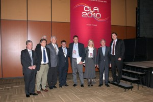 Con ilustres juristas en la CLA 2010